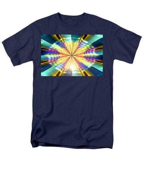 Men's T-Shirt  (Regular Fit) featuring the drawing Blooming Seasons by Derek Gedney