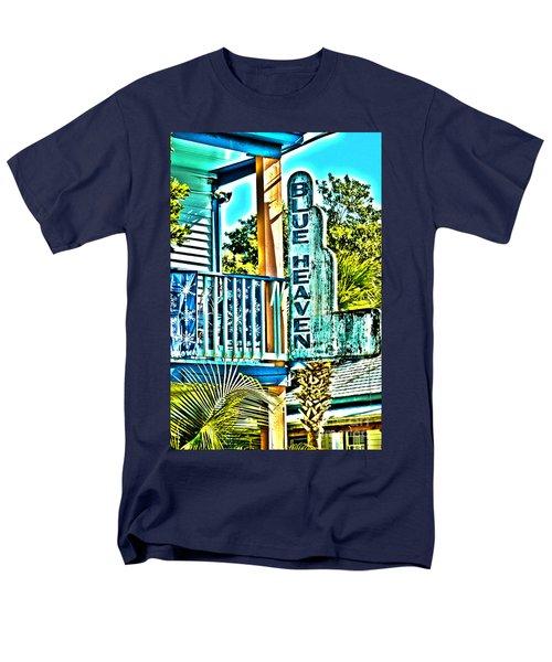 Blue Heaven In Key West - 1 Men's T-Shirt  (Regular Fit) by Susanne Van Hulst