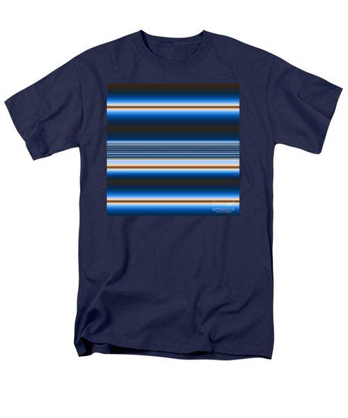 Men's T-Shirt  (Regular Fit) featuring the digital art Blue Horizons by Joan Hartenstein