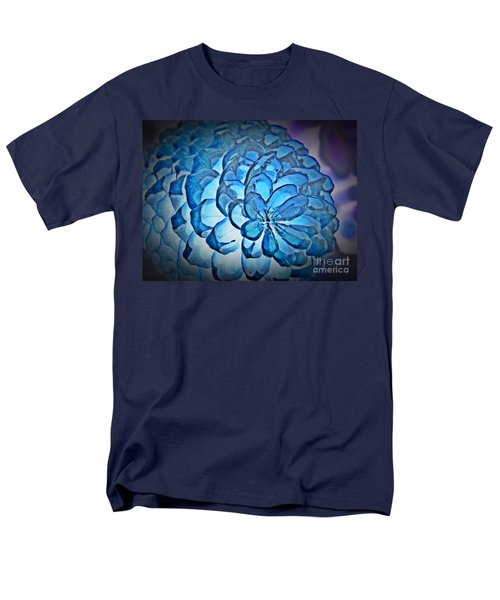 Blue Pine Cone 2 Men's T-Shirt  (Regular Fit) by Chalet Roome-Rigdon