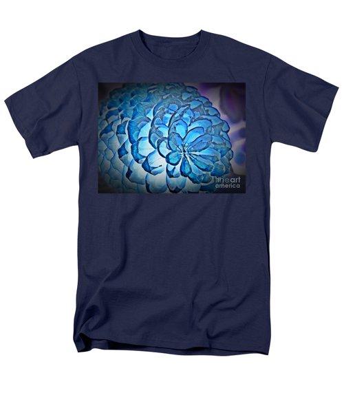 Blue Pine Cone 2 Men's T-Shirt  (Regular Fit)