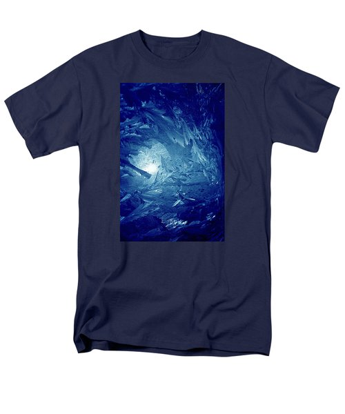 Blue Men's T-Shirt  (Regular Fit) by Richard Thomas