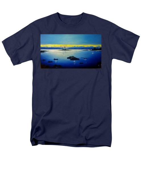 Blue Skies Men's T-Shirt  (Regular Fit) by Kelly Turner