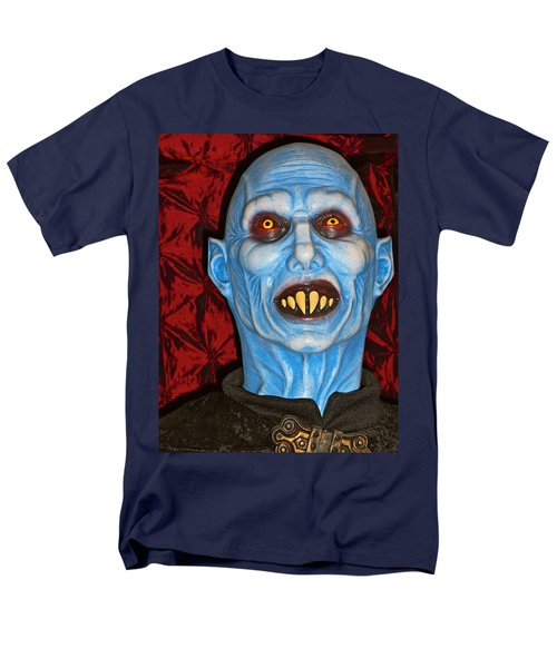 Men's T-Shirt  (Regular Fit) featuring the photograph Blue Vampire by Joan Reese