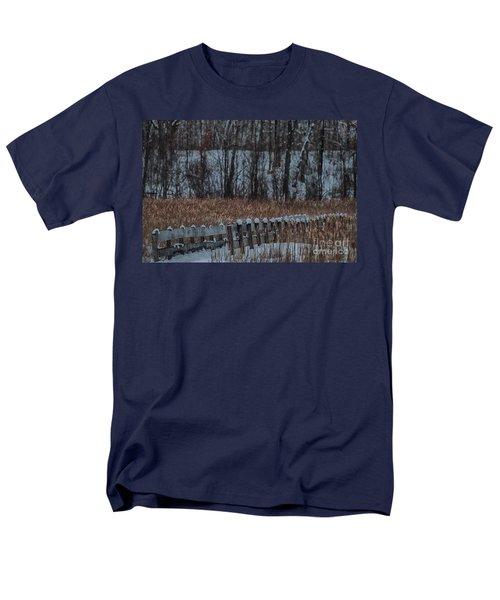 Men's T-Shirt  (Regular Fit) featuring the photograph Boardwalk Series No2 by Bianca Nadeau