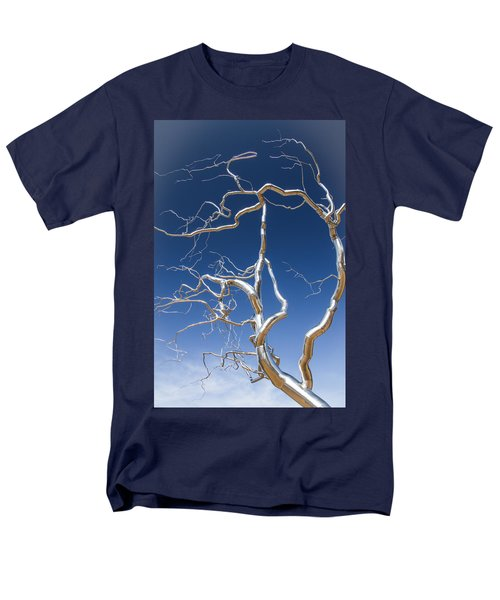 Branches Of Silver Men's T-Shirt  (Regular Fit) by Steven Bateson