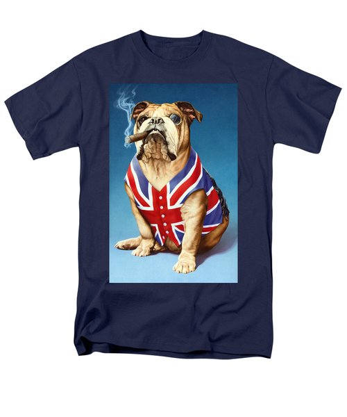 British Bulldog Men's T-Shirt  (Regular Fit) by Andrew Farley