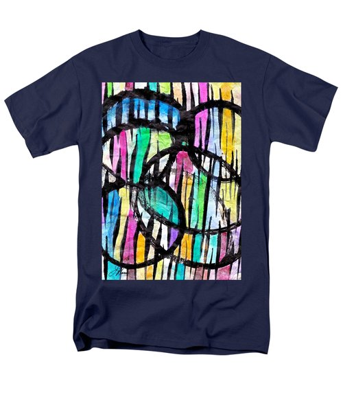 Broken Fences Men's T-Shirt  (Regular Fit) by Joan Reese