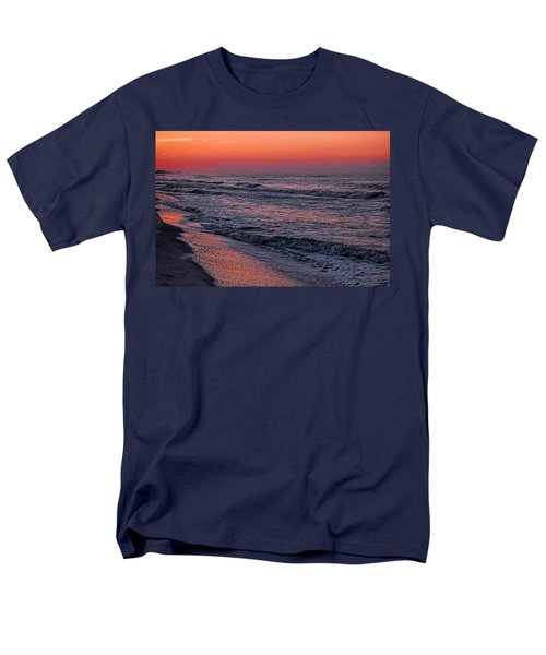 Men's T-Shirt  (Regular Fit) featuring the digital art Bubbling Surf by Michael Thomas