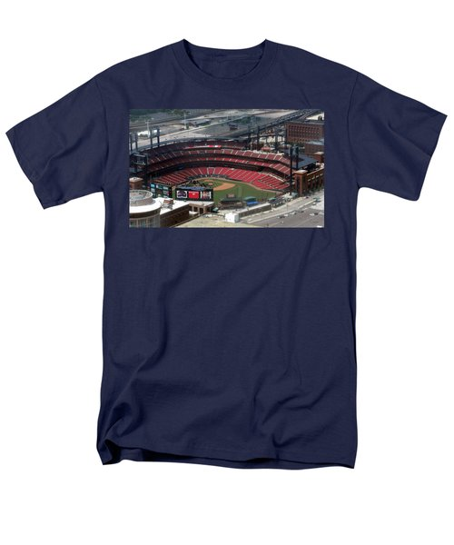 Busch Memorial Stadium Men's T-Shirt  (Regular Fit) by Thomas Woolworth