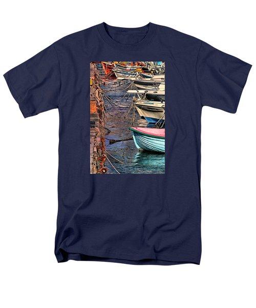 By A Nose Mykonos Greece Men's T-Shirt  (Regular Fit) by Tom Prendergast