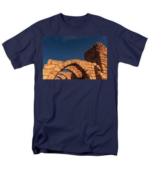 Caesarea Men's T-Shirt  (Regular Fit) by David Gleeson