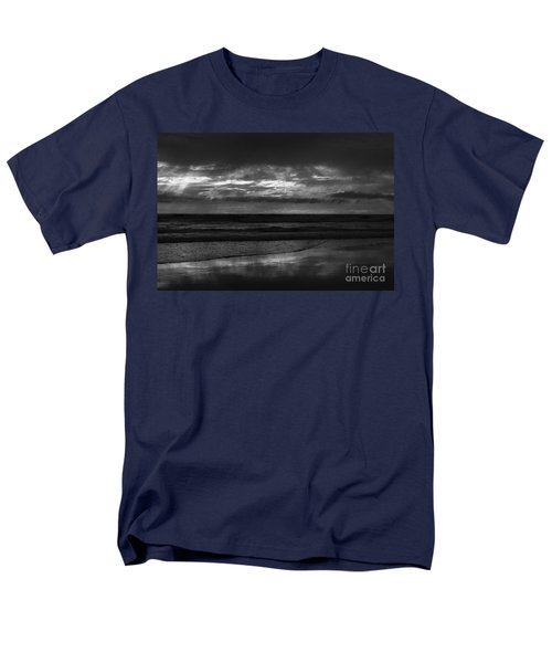 Men's T-Shirt  (Regular Fit) featuring the photograph  Cardiff Godrays by John F Tsumas