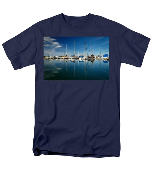 Calm Masts Men's T-Shirt  (Regular Fit) by James Eddy