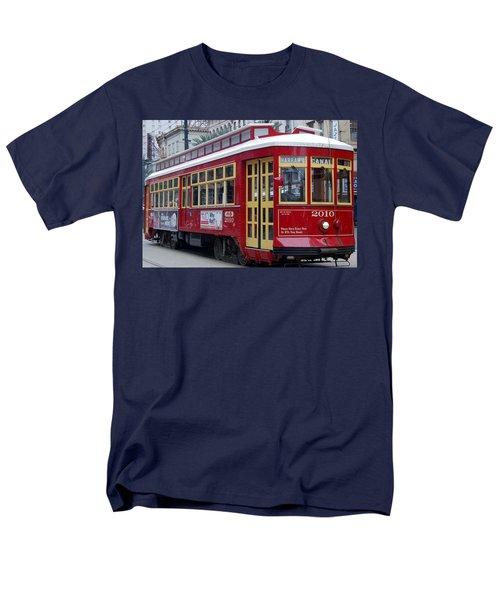Canal Streetcar Nola Men's T-Shirt  (Regular Fit)