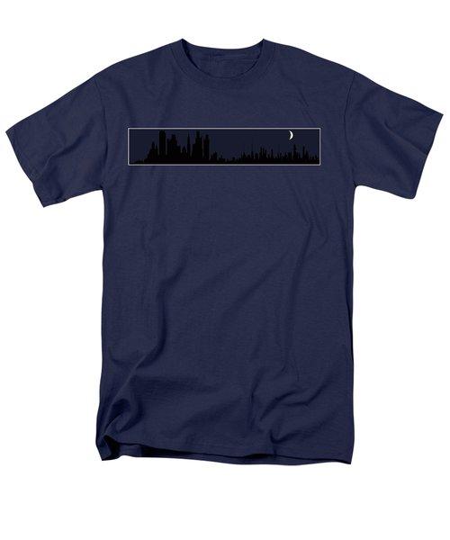 Men's T-Shirt  (Regular Fit) featuring the digital art City Skyline... by Tim Fillingim