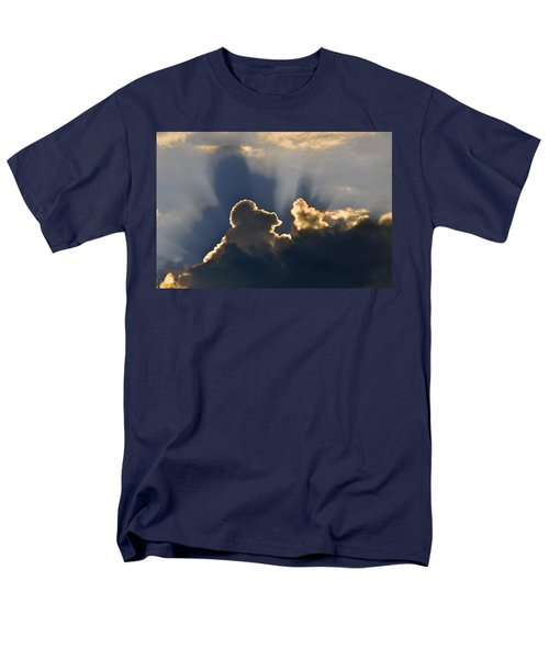 Men's T-Shirt  (Regular Fit) featuring the photograph Cloud Shadows by Charlotte Schafer