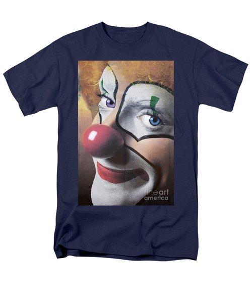 Clown Mural Men's T-Shirt  (Regular Fit) by Bob Christopher