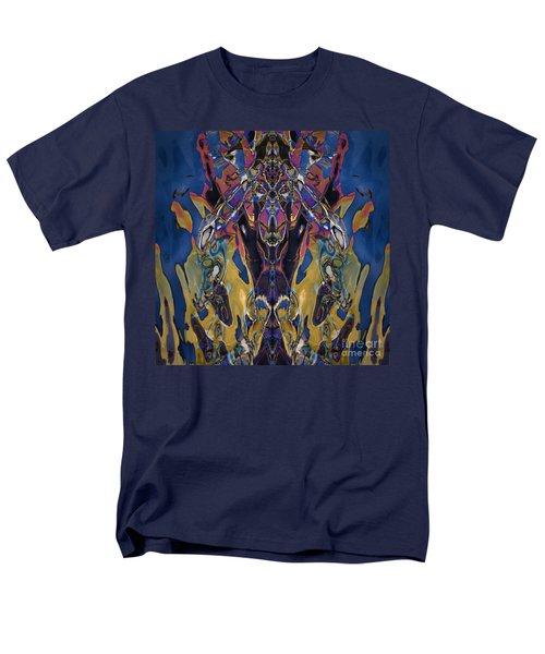Color Abstraction Xxi Men's T-Shirt  (Regular Fit) by David Gordon