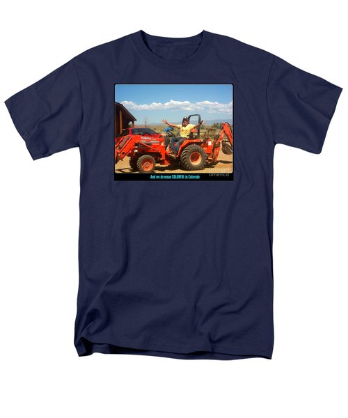 Colorful In Colorado Men's T-Shirt  (Regular Fit) by Kelly Awad