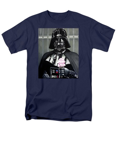 Come To The Dark Side... We Have Ice Cream. Men's T-Shirt  (Regular Fit) by Tom Carlton