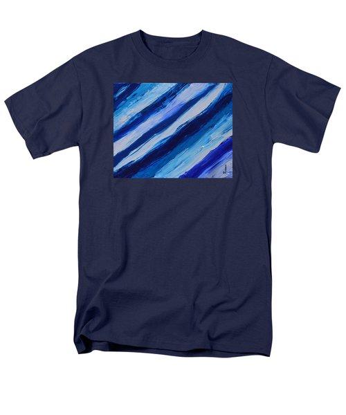 Cool Azul Men's T-Shirt  (Regular Fit) by Donna  Manaraze