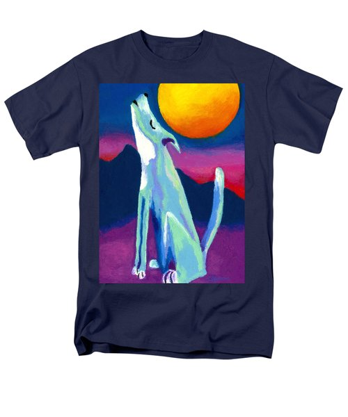 Coyote Azul Men's T-Shirt  (Regular Fit) by Stephen Anderson