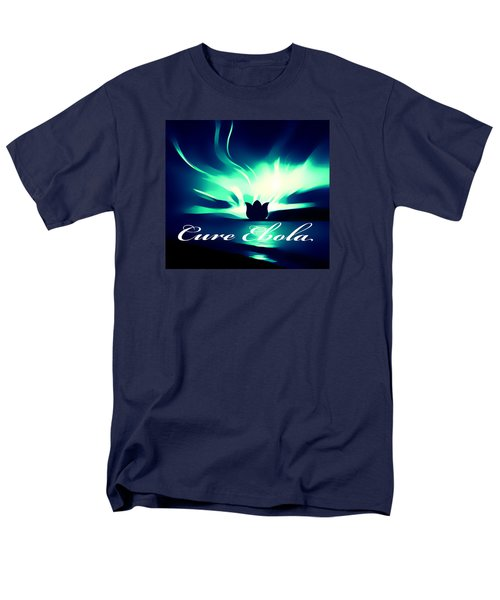 Men's T-Shirt  (Regular Fit) featuring the photograph Cure Ebola by Eddie Eastwood