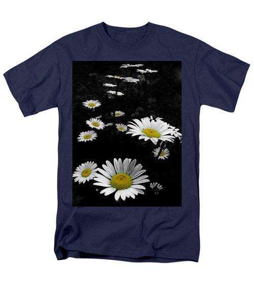 Daisies Men's T-Shirt  (Regular Fit) by GJ Blackman