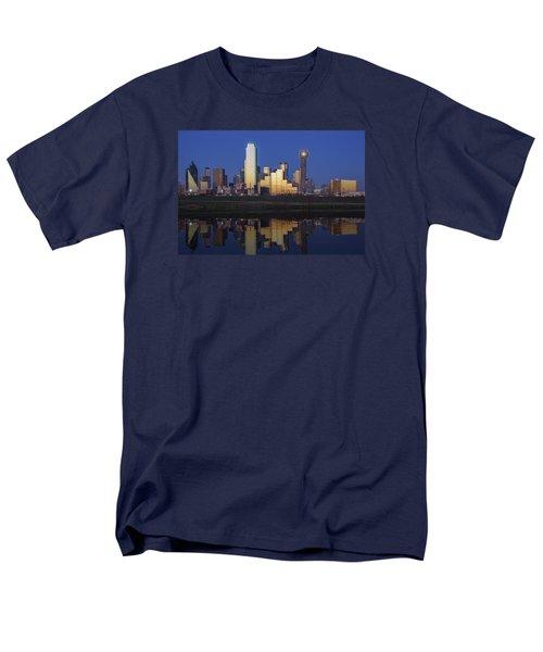 Dallas Twilight Men's T-Shirt  (Regular Fit) by Rick Berk