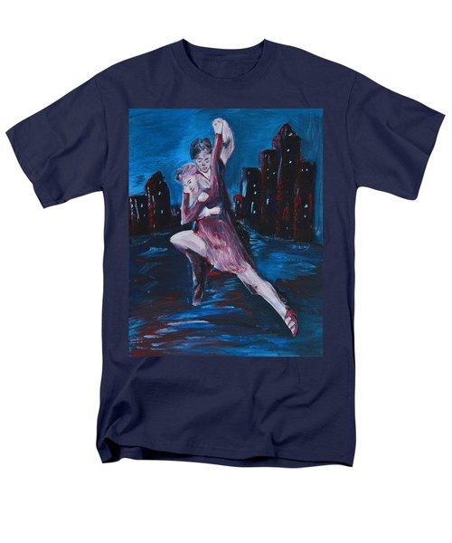 Dance The Night Away Men's T-Shirt  (Regular Fit) by Donna Blackhall