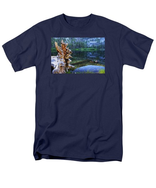 Men's T-Shirt  (Regular Fit) featuring the photograph Dawn Arrives At Eagle Lake by Sean Sarsfield