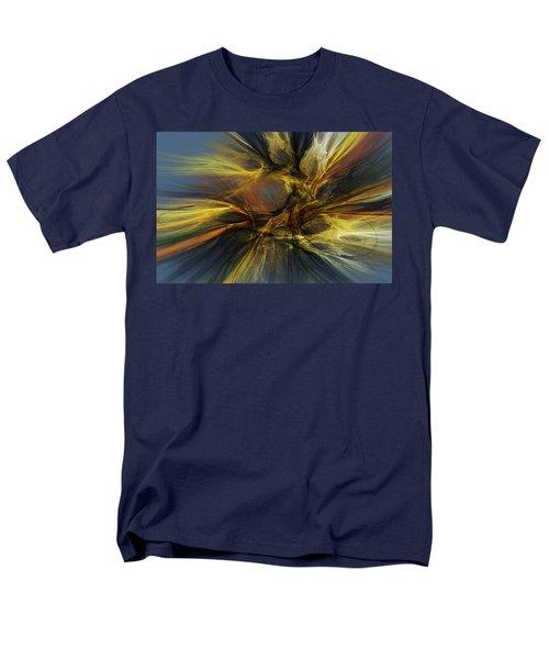 Men's T-Shirt  (Regular Fit) featuring the digital art Dawn Of Enlightment by David Lane