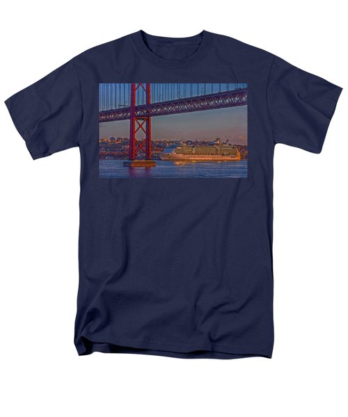 Dawn On The Harbor Men's T-Shirt  (Regular Fit) by Hanny Heim