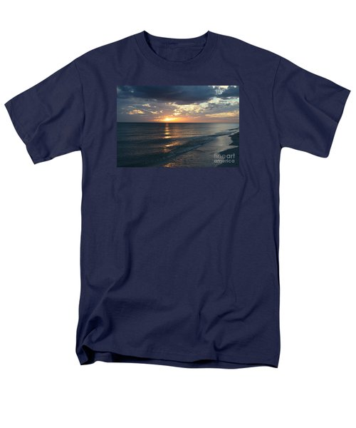 Days End Over Sanibel Island Men's T-Shirt  (Regular Fit) by Christiane Schulze Art And Photography