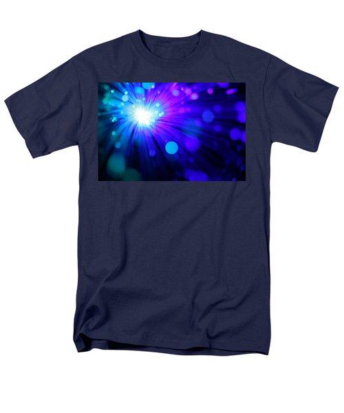 Dazzling Blue Men's T-Shirt  (Regular Fit) by Dazzle Zazz
