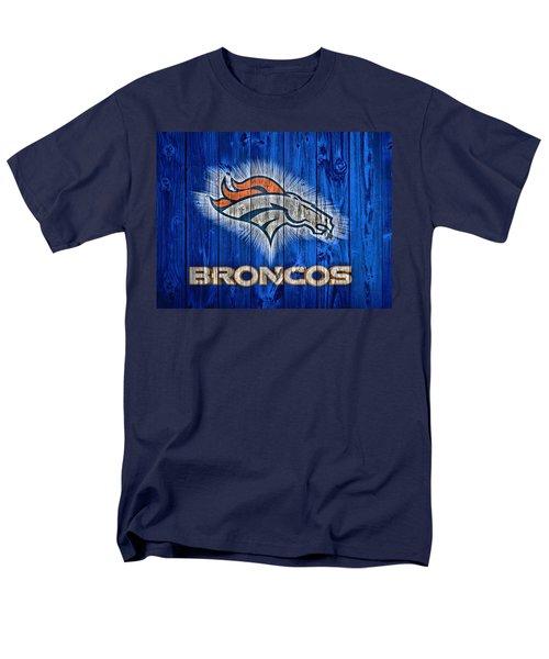 Denver Broncos Barn Door Men's T-Shirt  (Regular Fit) by Dan Sproul