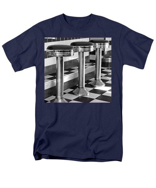 Diner Stools Men's T-Shirt  (Regular Fit) by Lisa Phillips