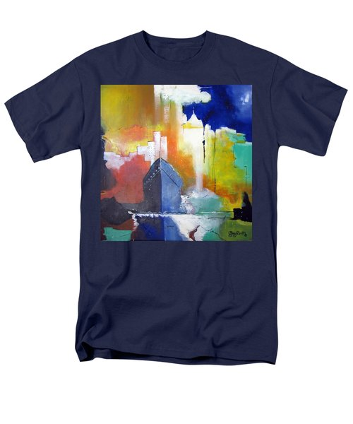 Down The Hudson Men's T-Shirt  (Regular Fit) by Gary Smith