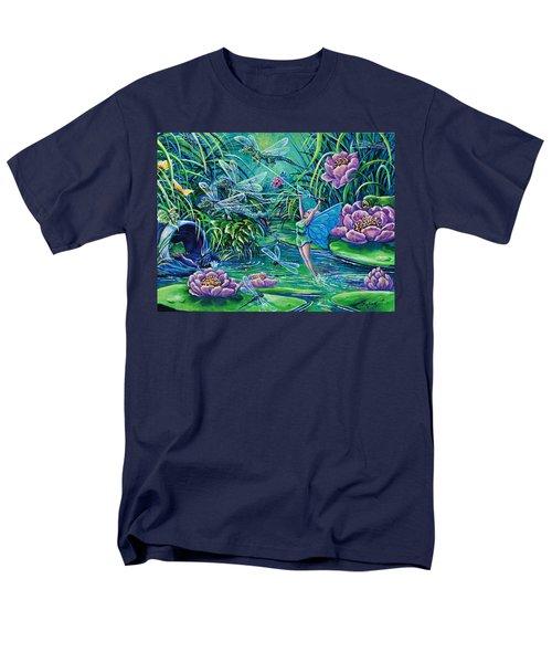 Dragonflies Men's T-Shirt  (Regular Fit) by Gail Butler