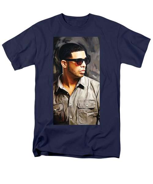 Drake Artwork 2 Men's T-Shirt  (Regular Fit) by Sheraz A