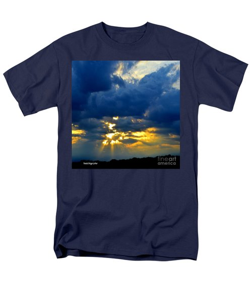 Dramatic Clouds Men's T-Shirt  (Regular Fit) by Luther Fine Art
