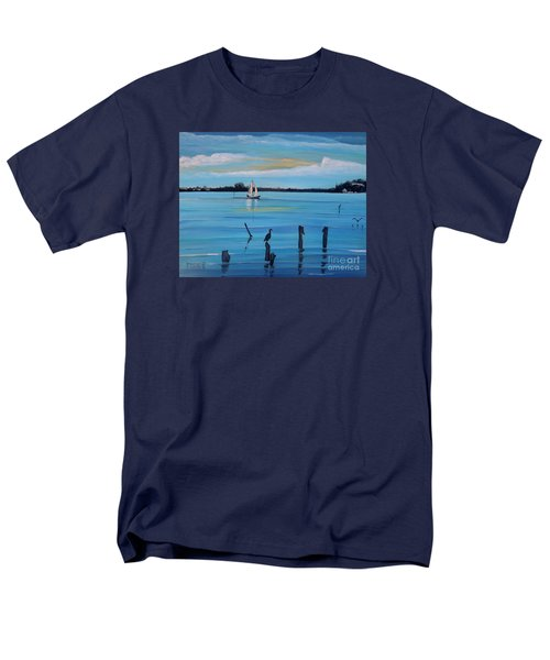 Dusk Approaching  Men's T-Shirt  (Regular Fit) by Marilyn  McNish