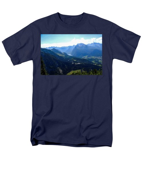 Eagle's Nest Vista Men's T-Shirt  (Regular Fit) by Marilyn Burton