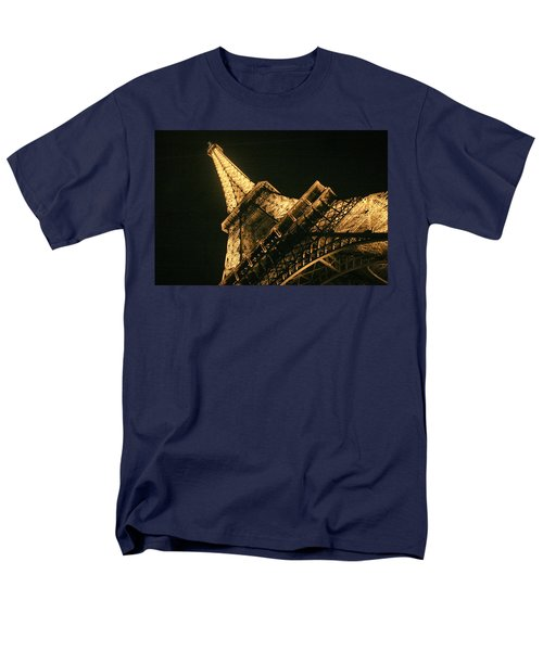 Men's T-Shirt  (Regular Fit) featuring the photograph Eiffel by Silvia Bruno