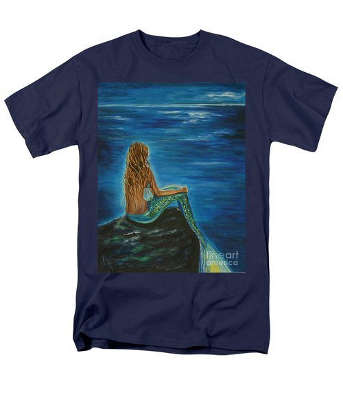 Enchanted Mermaid Beauty Men's T-Shirt  (Regular Fit) by Leslie Allen