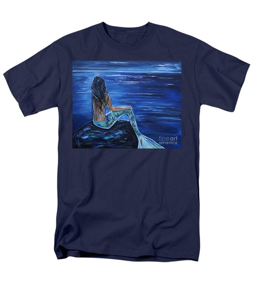 Enchanting Mermaid Men's T-Shirt  (Regular Fit) by Leslie Allen