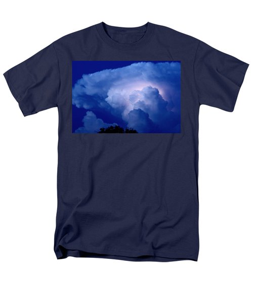 Men's T-Shirt  (Regular Fit) featuring the photograph Evening Giant by Charlotte Schafer