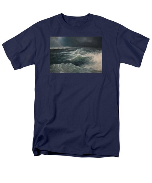 Men's T-Shirt  (Regular Fit) featuring the painting Eye Of Storm by Mikhail Savchenko