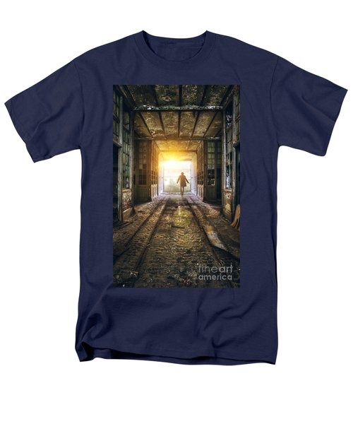 Factory Chase Men's T-Shirt  (Regular Fit) by Carlos Caetano